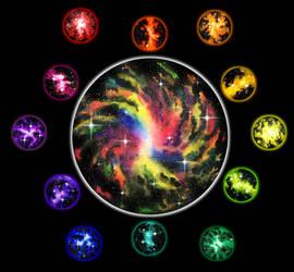 Color Wheel: Galaxy Style by Multicolored-Man