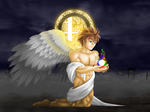 An Angel and a Spirit by Multicolored-Man