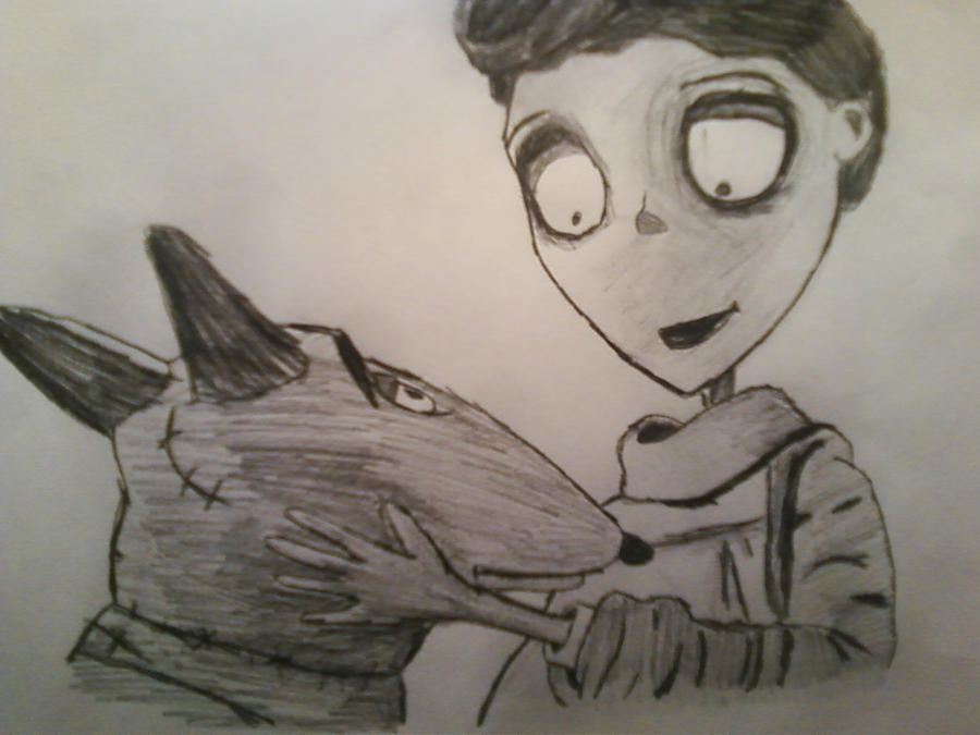 Frankenweenie Victor And Sparky By Smokeyjo7197 On Deviantart