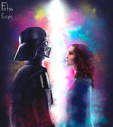 'What have I become' Darth Vader and Padme