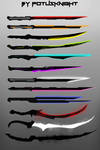 NEXUS Swords Silhouettes