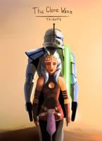 Star Wars: The Clone Wars Tribute by FotusKnight
