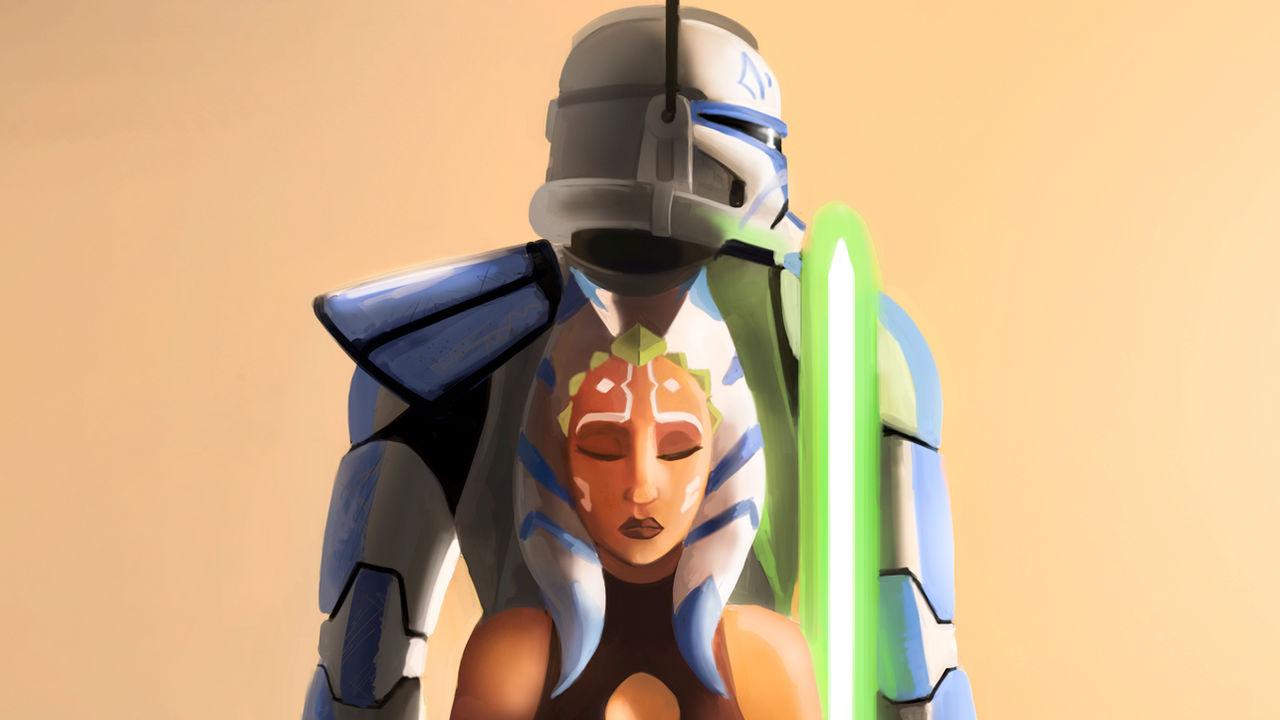 Star Wars The Clone Wars Tribute Wallpaper By Fotusknight On