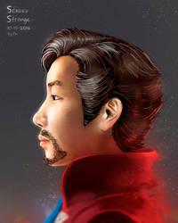 Doctor Sergey Strange Portrait by FotusKnight
