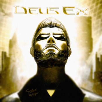 Deus Ex - Adam Jensen Retro Style by FotusKnight