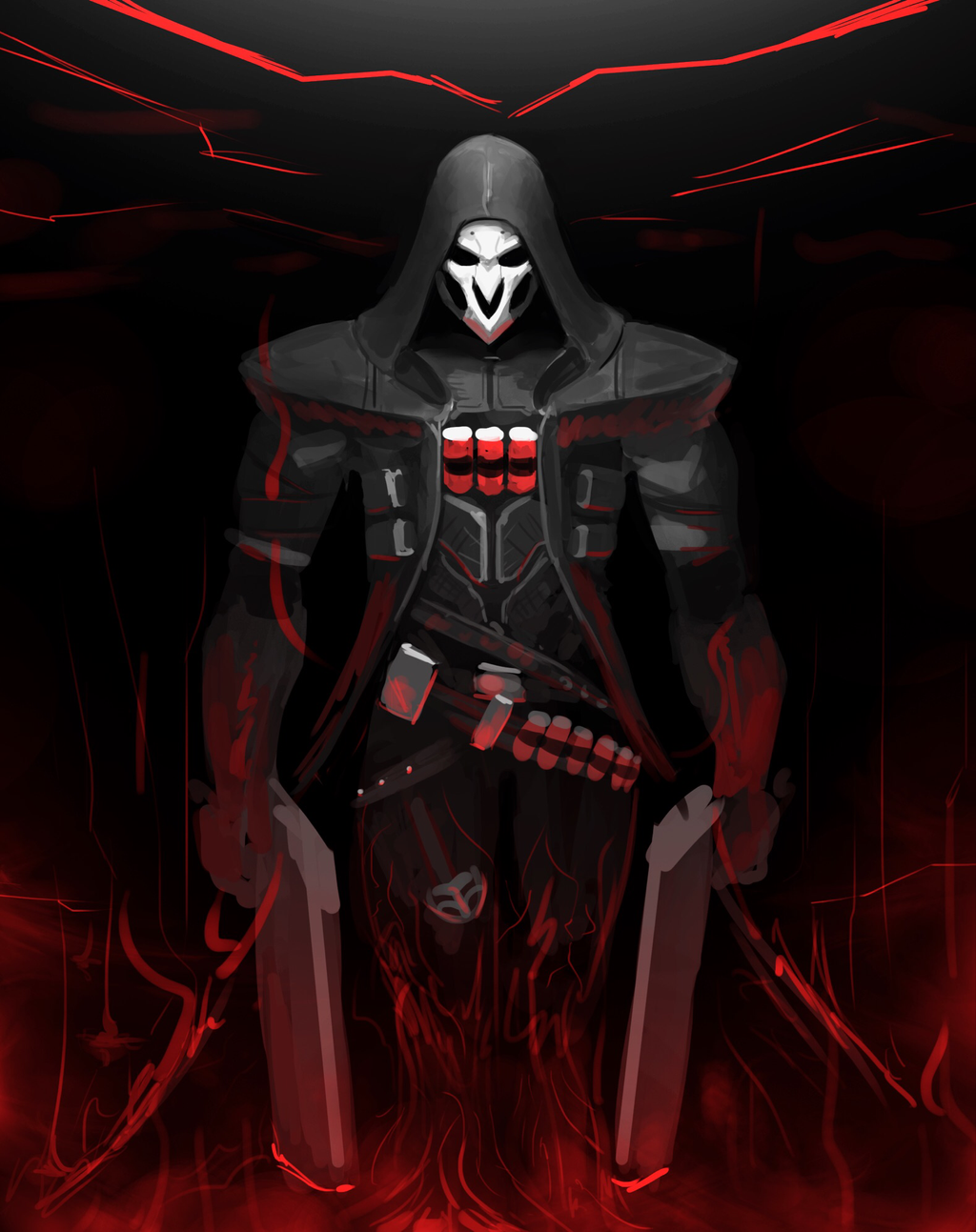 Overwatch - Reaper by FotusKnight