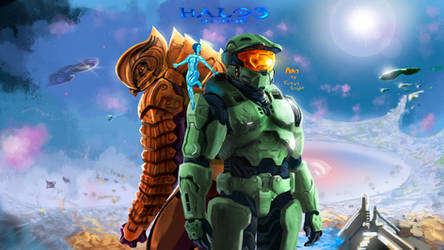 Halo 3: Anniversary Tribute by FotusKnight