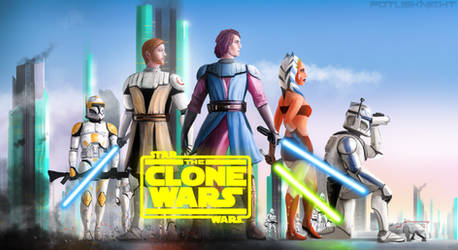 The Clone Wars - 10 YEAR ANNIVERSARY by FotusKnight