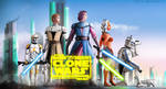 The Clone Wars - 10 YEAR ANNIVERSARY by FotusKnight