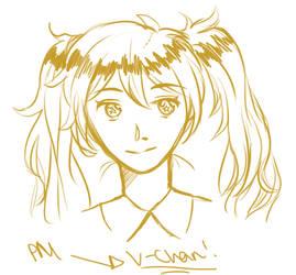 V-Chan doodle