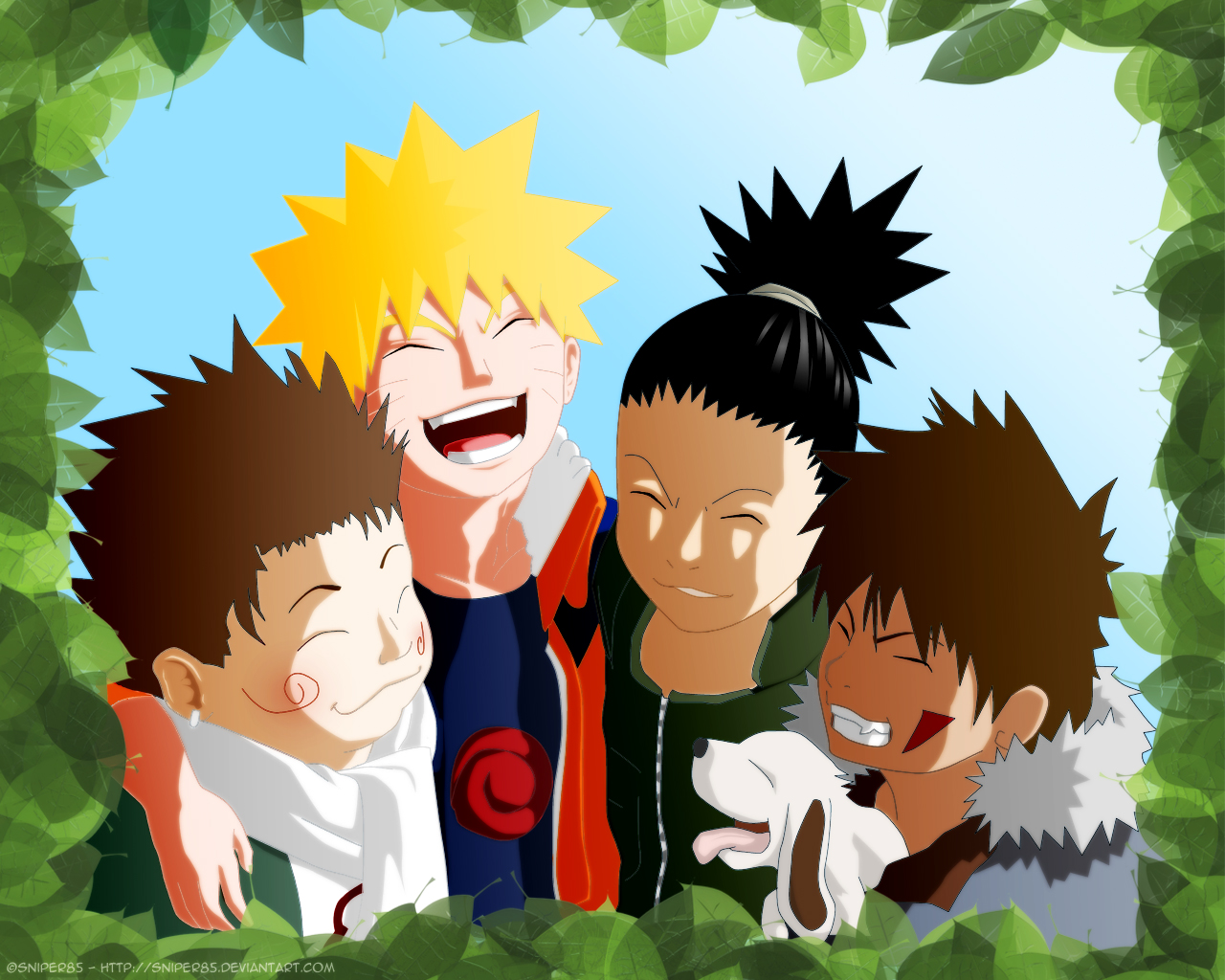Popular Wallpaper Naruto Friend - Friends___Naruto_by_SNiPER85  You Should Have_676867.jpg