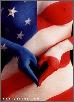 For the Love of America by Pashur