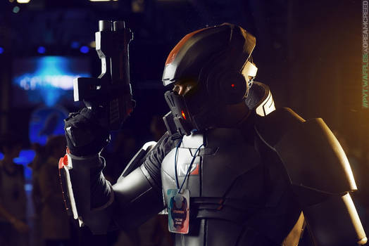 Commander Shepard at Starcon 2015