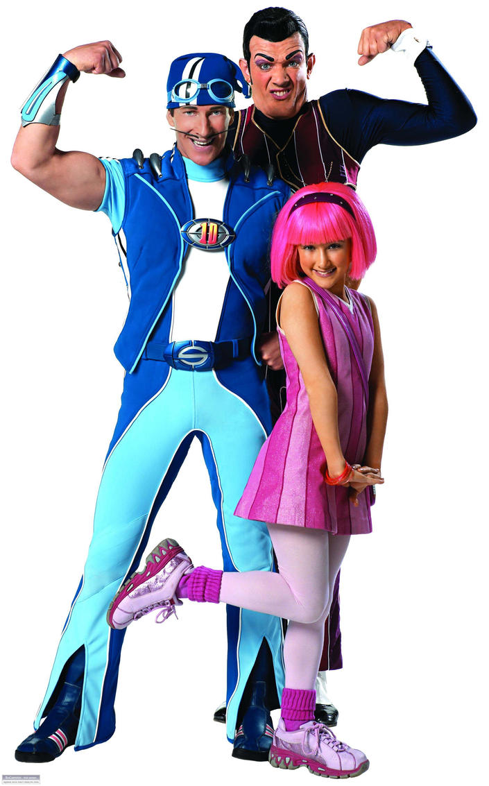 lazy town stephanie and sportacus relationship tips