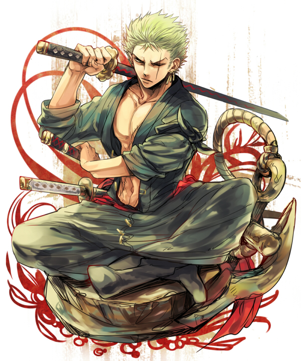 One Piece Zoro Wallpaper: Roronoa Zoro By Roronoa62 On DeviantArt