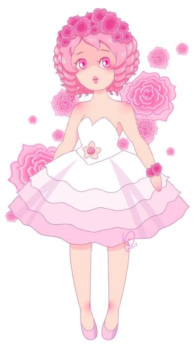 SU: Rose Quartz by PrincessKalia
