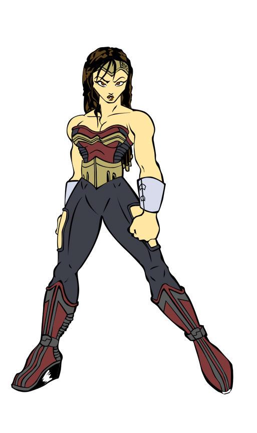Ultimate Wonder Woman Flats by spydaman