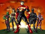 Ultimate Justice League Colour