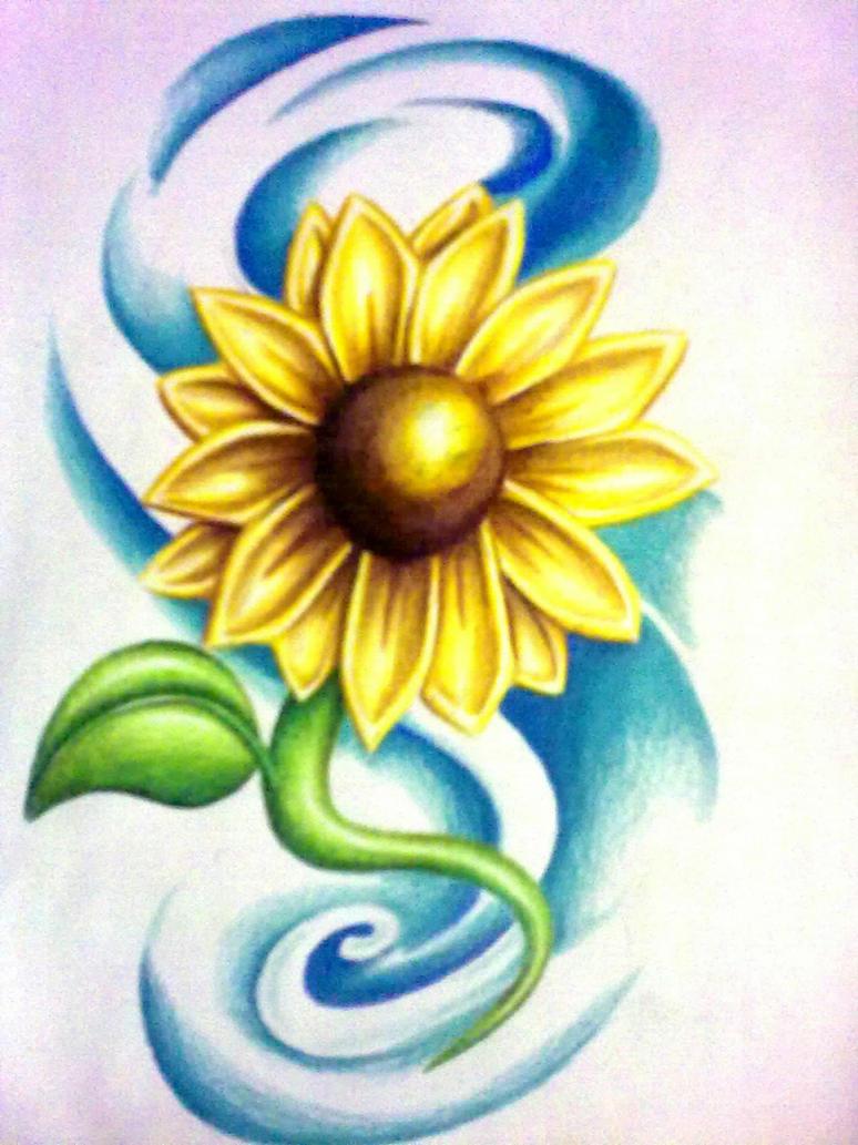 Sunflower tattoo designs names