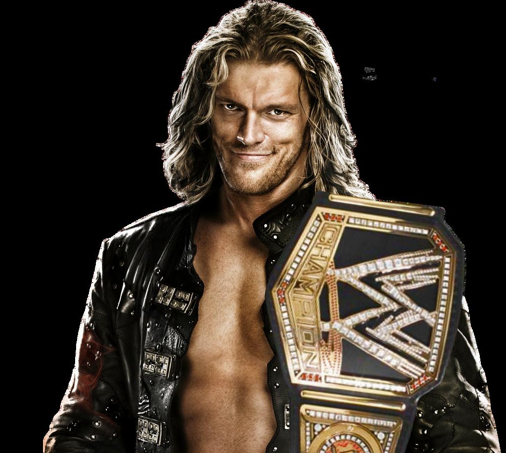 Edge WWE Champion by AhmadHBK Edge WWE Champion by AhmadHBK