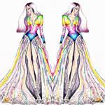 Kesha - Rainbow dress