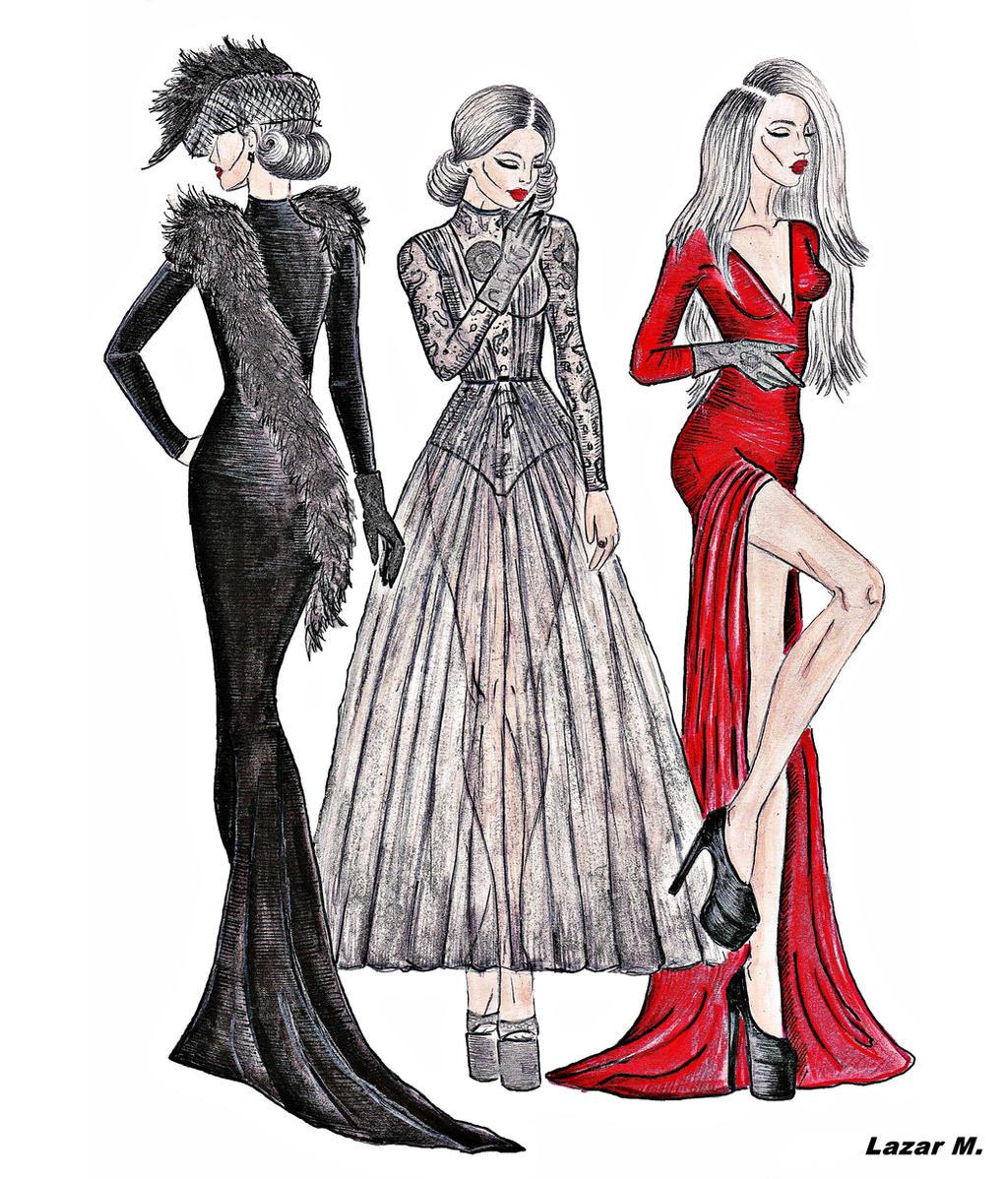 Drawing fashion bill thames 26