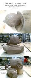 Romulan-clay sculpture WIP by jossujb