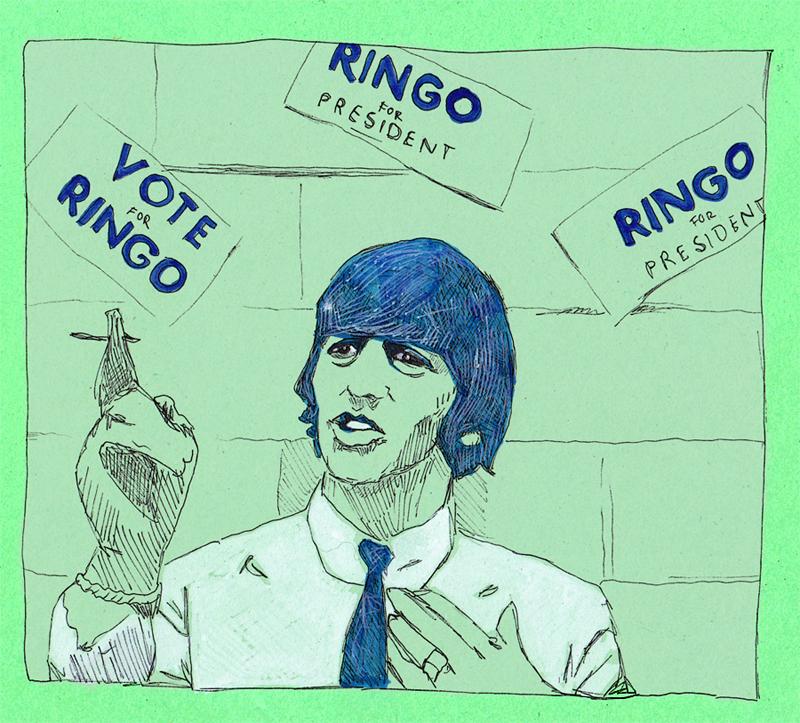 Ringo Starr by jossujb