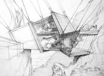 mountain house by Jaromira