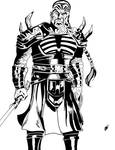 Darth Kryth (Ink) by DarkSunProductions