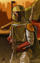 Boba Fett Shadows Of The Empire by DarkSunProductions