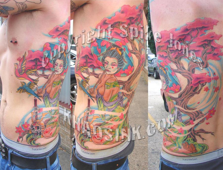 Austin's Geisha by SpikeJones67