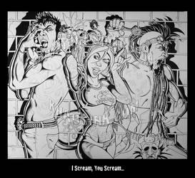 I Scream, You Scream... by SpikeJones67