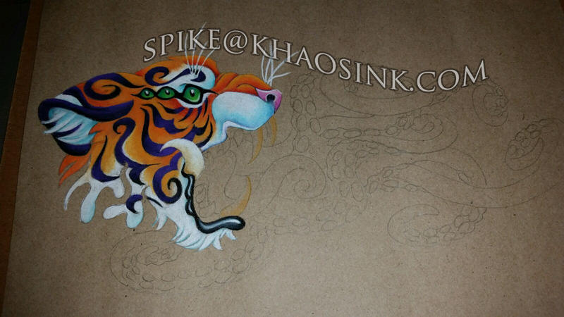 Tiger WIP by SpikeJones67
