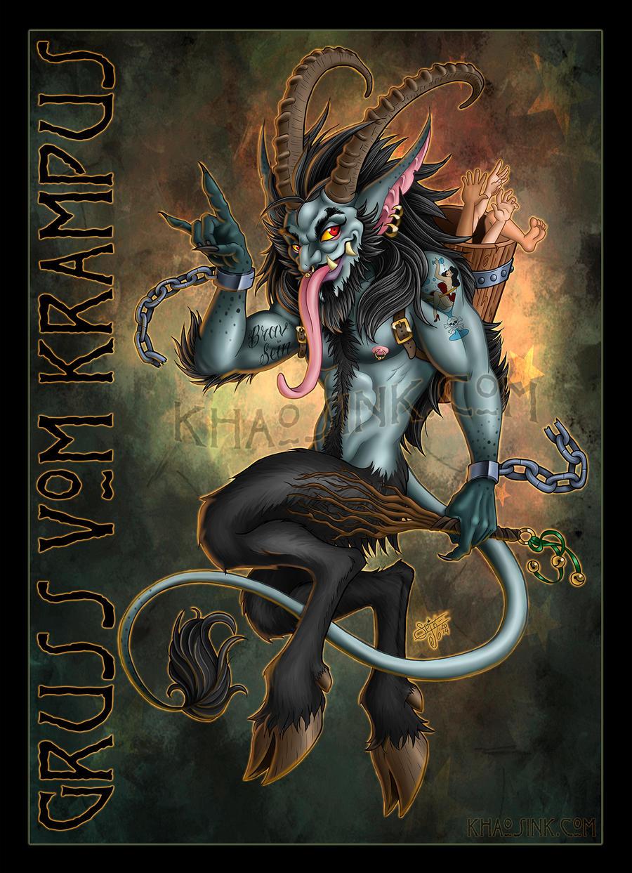 Krampus the yule lord by spikejones67 on deviantart - Krampus wallpaper ...