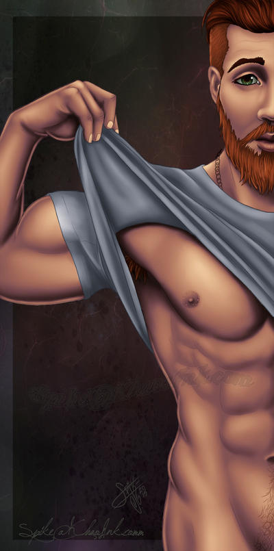 Bodhi's Nipple Finished by SpikeJones67