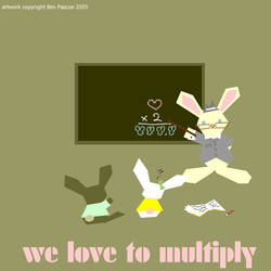 we love to multiply by electric-de