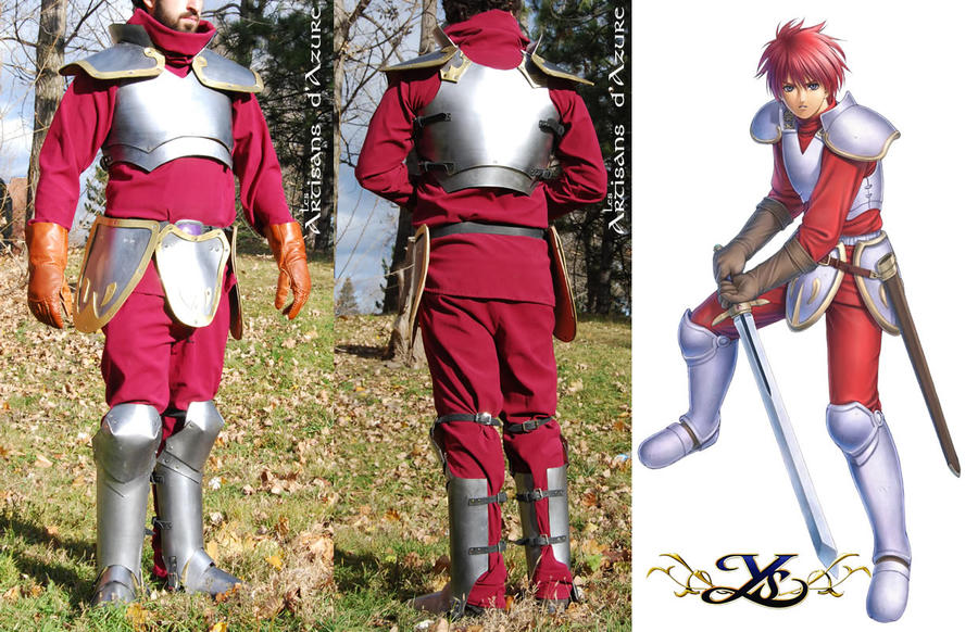 Cosplay - YS Adol's armor by ArtisansdAzure