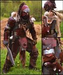 Ork Hunter's armour by ArtisansdAzure