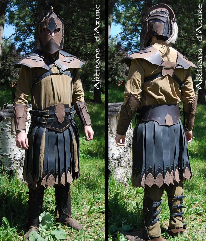 Fantastic greek armor kit by ArtisansdAzure