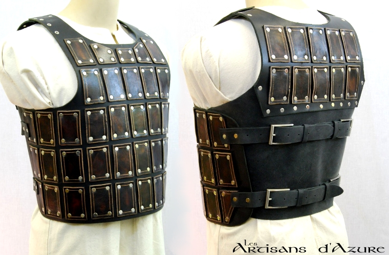 Short Brigandine Breastplate by ArtisansdAzure