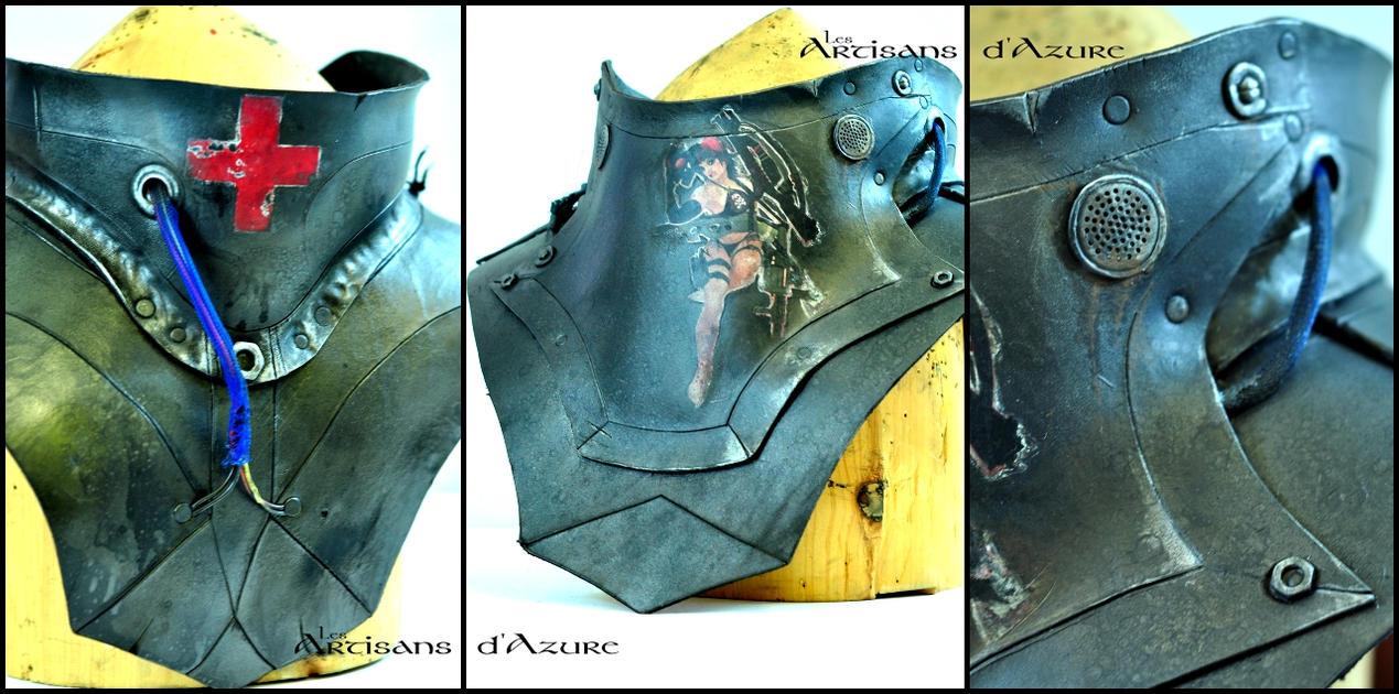 WIP: Power Armor Gorget by ArtisansdAzure