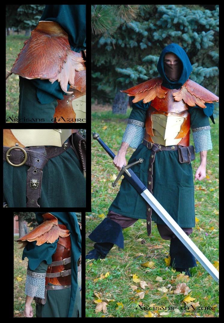 Autumn Elven Armour by ArtisansdAzure
