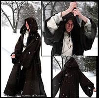 Winter wandering monk inspired jedi by ArtisansdAzure
