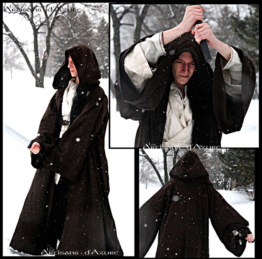 Winter wandering monk inspired jedi by ArtisansdAzure