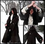 Winter wandering monk inspired jedi