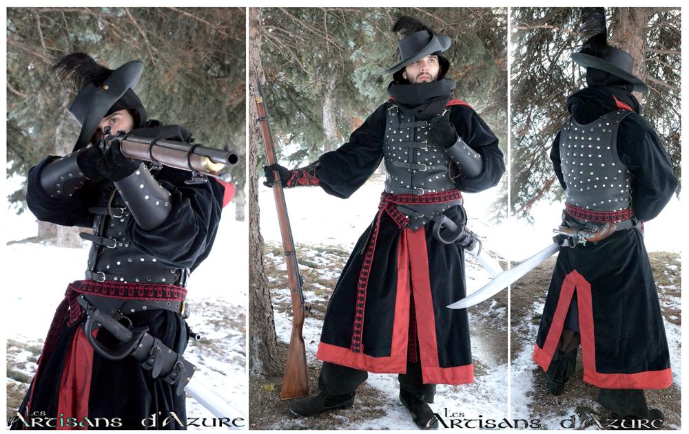 Musketeer's padded Armor by ArtisansdAzure