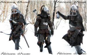 Mongol Brigandine by ArtisansdAzure