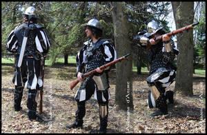 War Leather Vest - Veste de guerre by ArtisansdAzure