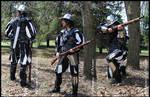War Leather Vest - Veste de guerre